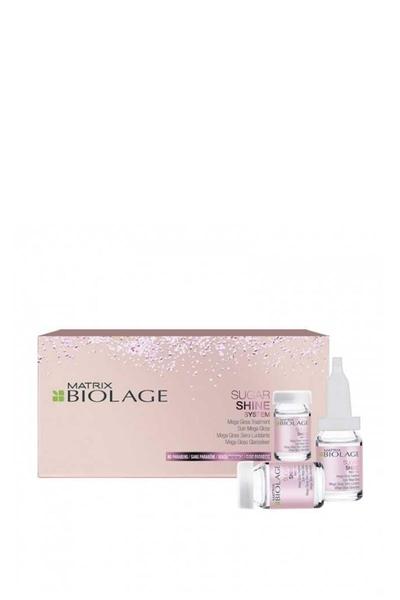 Matrix - Matrix Biolage Sugar Shine Mega Gloss Treatment Parlaklık Kazandıran Serum 10x6ml
