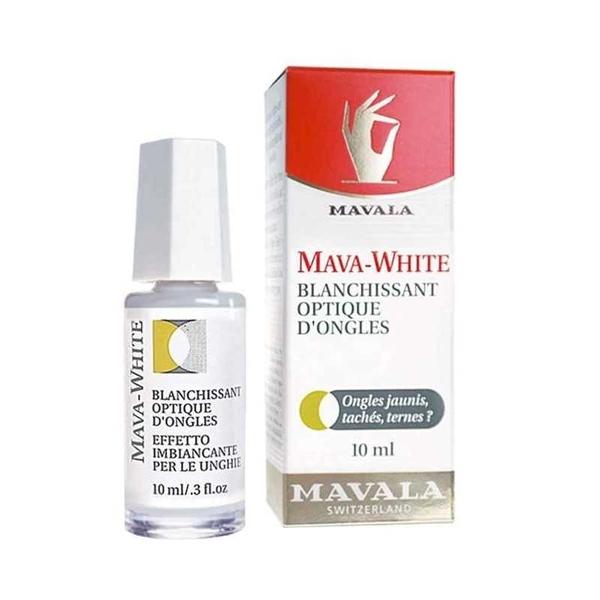 Mavala - Mavala Mava White Optik Tırnak Parlatıcı 10 ml