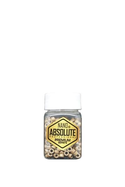 Nano Absolute - Nano Absolute Saç Kaynak Boncuğu G002 Açık Kahverengi 500 Adet