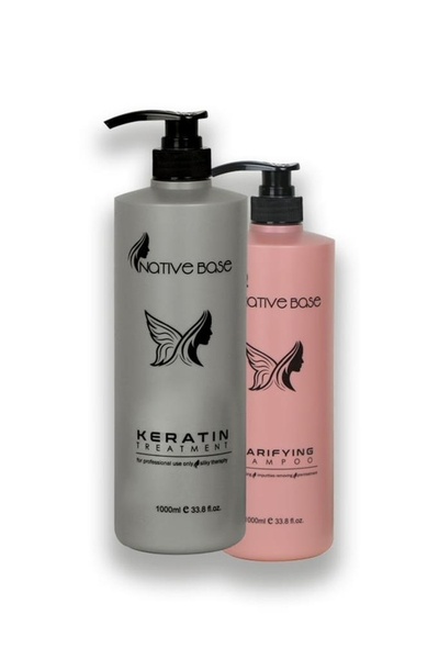 Native Base - Native Base Keratin Bakım Seti 1000ml