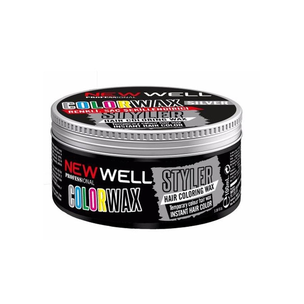 New Well - New Well Color Wax Silver 100ml