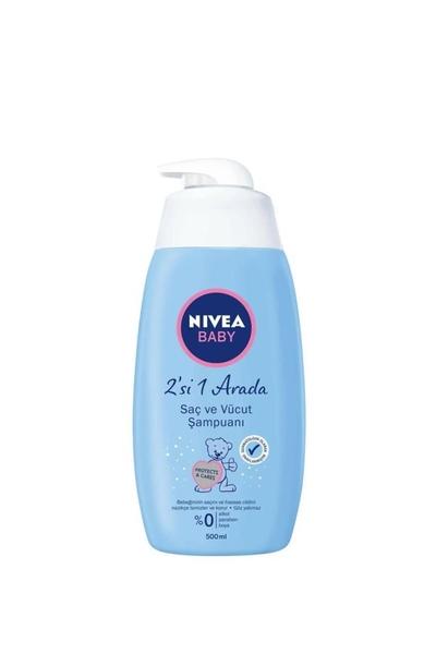 Nivea - Nivea Baby Saç ve Vücut Şampuanı 500 ml
