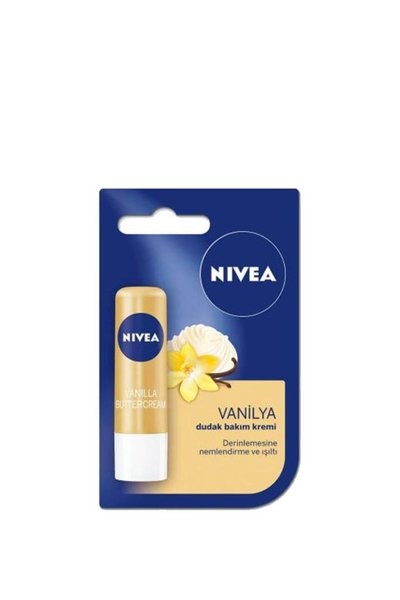 Nivea - Nivea Dudak Bakım Kremi Vanilya & Doğal Yağlar