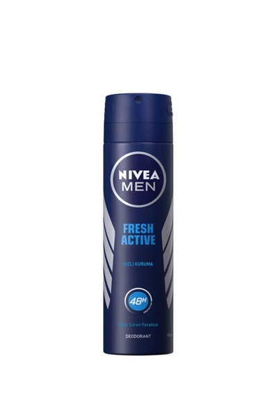 Nivea - Nivea Men Fresh Active Sprey Deodorant 150 ml