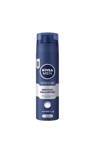 Nivea - Nivea Men Koruyucu Tıraş Köpüğü 200 ml