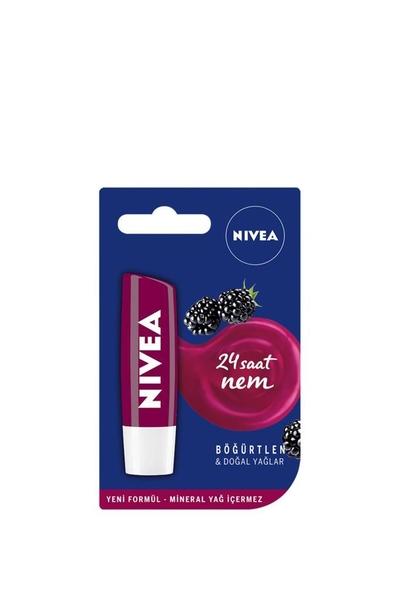 Nivea - Nivea Nemlendirici Dudak Bakım Kremi Böğürtlen