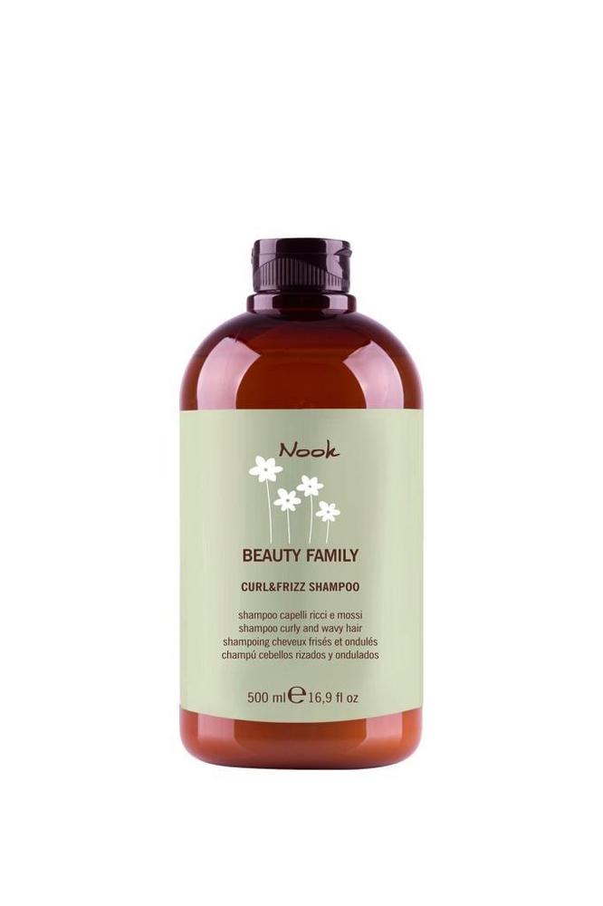 Nook Beauty Family Curl&Frizz Kıvırcık Saçlara Esneklik Kazandırıcı Şampuan 500 ml