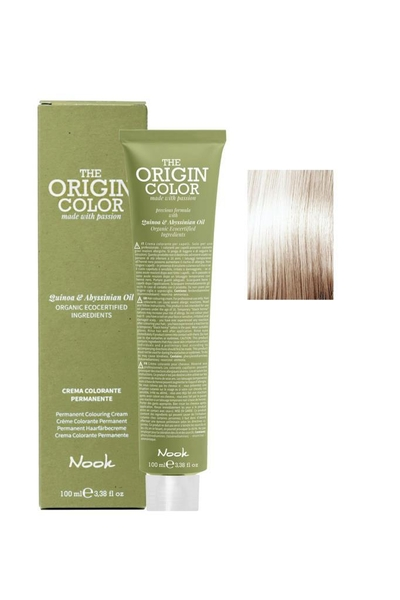 Nook - Nook The Origin Color Saç Boyası 11.13 Ekstra Platin Sarı Bej 100 ml