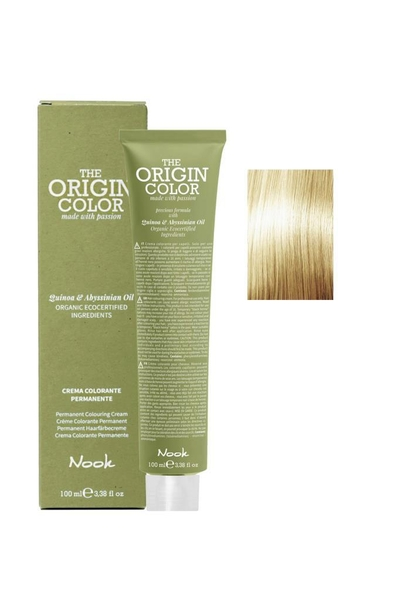 Nook - Nook The Origin Color Saç Boyası 11.3 Ekstra Platin Sarı Altın 100 ml