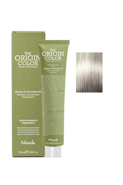 Nook - Nook The Origin Color Saç Boyası 12.7 Süper Açıcı Kum 100 ml