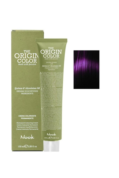 Nook - Nook The Origin Color Saç Boyası 4.2 Kestane Viyole 100 ml