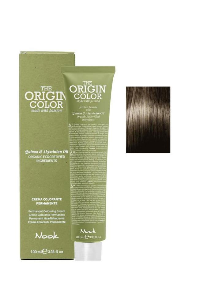Nook The Origin Color Saç Boyası 6.0 Koyu Kumral 100 ml
