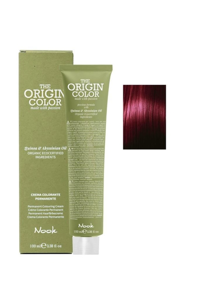 Nook - Nook The Origin Color Saç Boyası 6.5 Koyu Kumral Akaju 100 ml