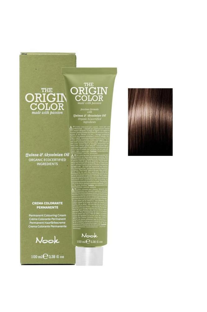 Nook The Origin Color Saç Boyası 6.71 Koyu Kumral Kahve İrize 100 ml