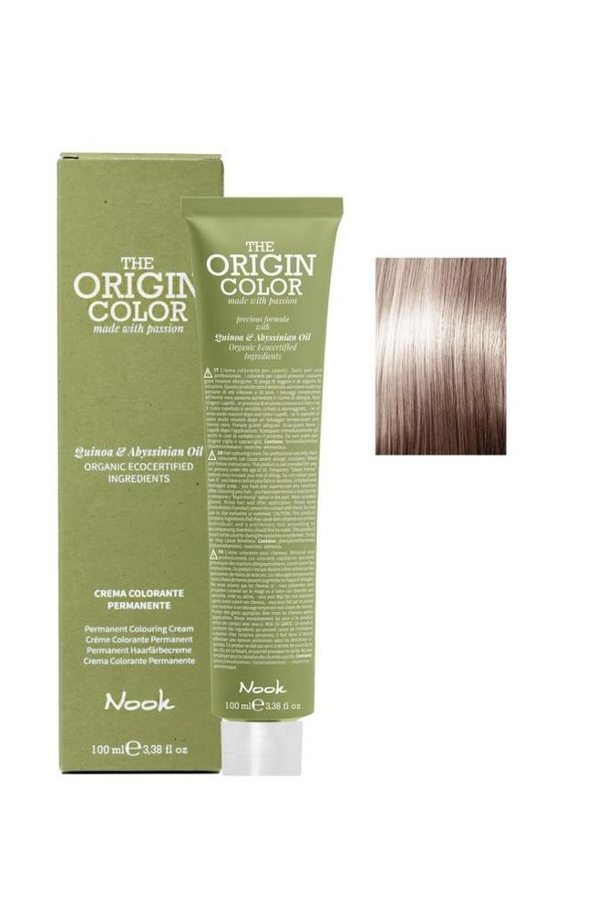 Nook The Origin Color Saç Boyası 8.13 Açık Kumral Bej 100 ml