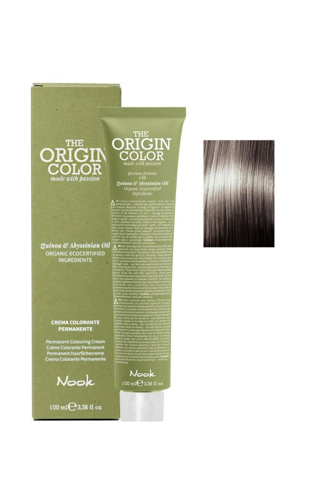 Nook The Origin Color Saç Boyası 9.1 Çok Açık Kumral Küllü 100 ml
