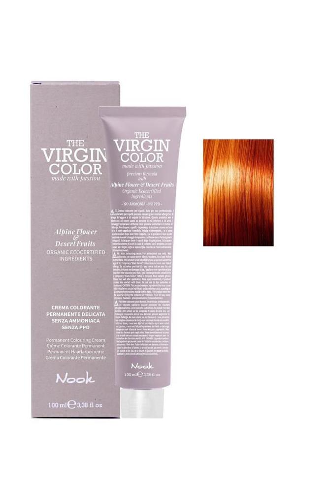 Nook The Virgin Color Amonyaksız Saç Boyası 8.44 Açık Kumral Yoğun Bakır 100 ml