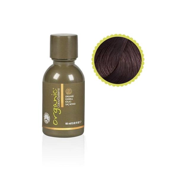 Organic - Organic Colour Systems 4NN Yoğun Orta Kahve