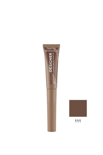Pastel - Pastel Profashion Brow Designer 2 in 1 Jel Kaş Boyası 111 7 g