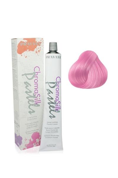 Pravana - Pravana Chroma Silk Pastels Yarı Kalıcı Saç Boyası Pembe 90 ml