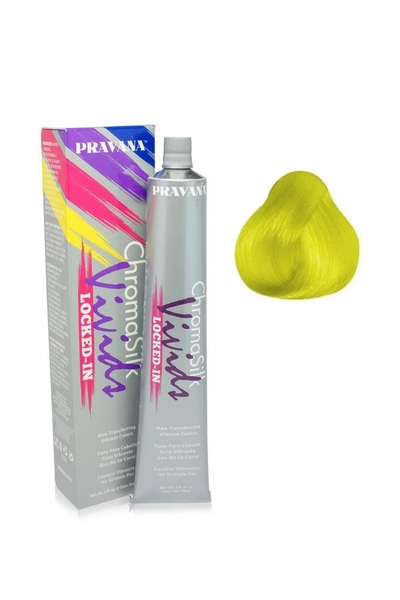 Pravana - Pravana Chroma Silk Vivids Locked-In Sarı 90 ml
