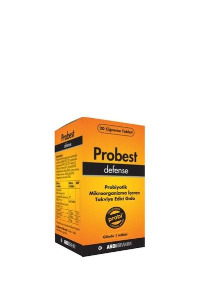 Probest - Probest Defense Probiyotik İçeren Takviye Edici Gıda 20 Tablet