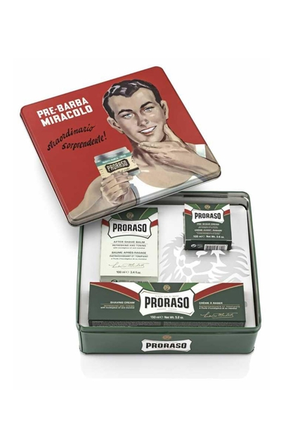 Proraso - Proraso Klasik Gino Vintage Tıraş Seti
