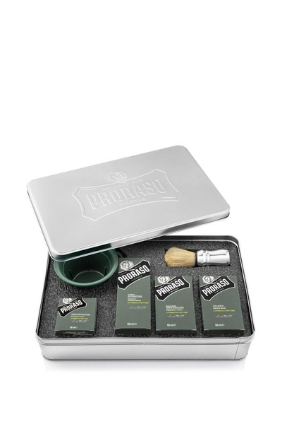 Proraso - Proraso Metal Kutu Tıraş Seti Cypress & Vetyver