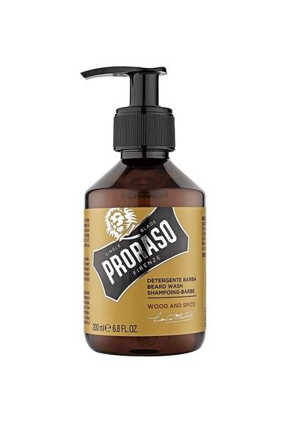 Proraso - Proraso Temizleyici Sakal Şampuanı Wood & Spice 200 ml