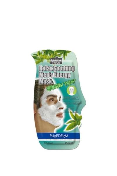 Purederm - Purederm Yeşil Çaylı Rahatlatıcı Erkek Maskesi
