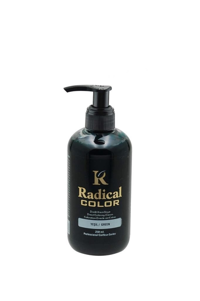 Radical Color - Radical Color Direkt Krem Boya Yeşil 250 ml