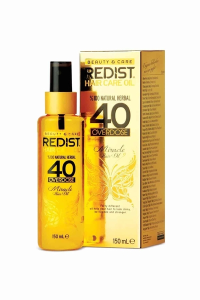 Redist - Redist 40 Bitkili Saç Bakım Yağı 150 ml