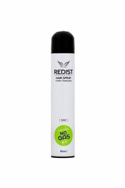 Redist - Redist Pure Force Gazsız Saç Spreyi 400 ml