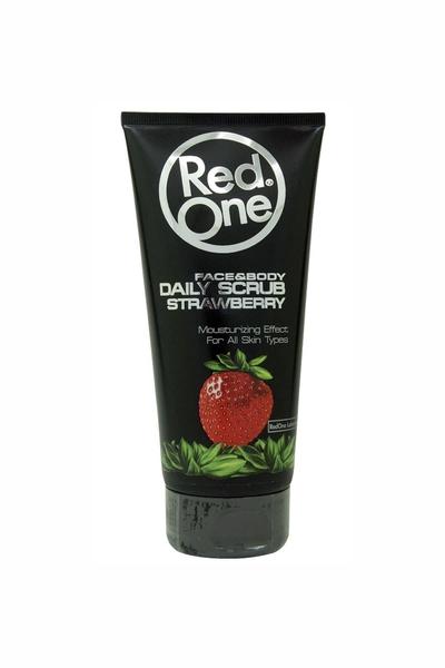 RedOne - RedOne Çilek Aromalı Yüz Ve Vücut Peelingi 170 ml