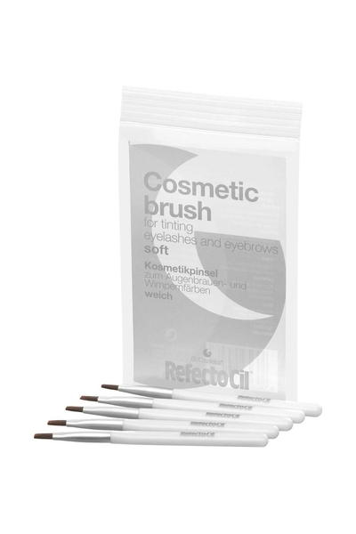 RefectoCil - RefectoCil 5'li Yumuşak Boyama Fırçası