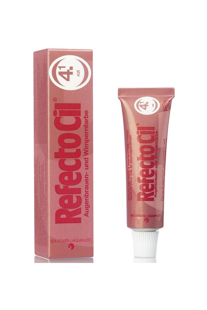 RefectoCil Kaş Ve Kirpik Boyası 4.1 Kızıl 15 ml
