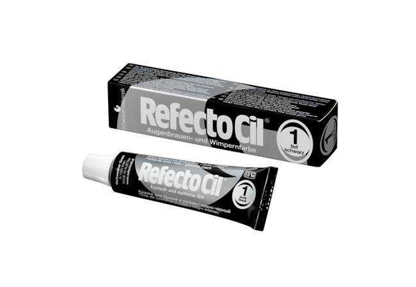 RefectoCil - RefectoCil Kaş ve Kirpik Boyası No:1 Siyah 15 ml