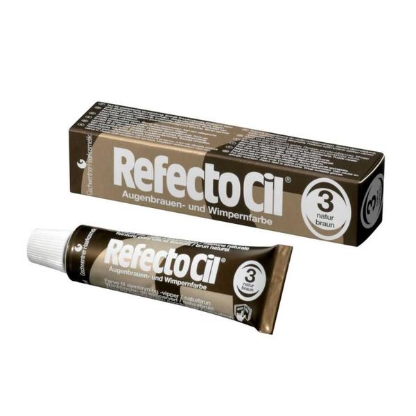 RefectoCil - RefectoCil Kaş ve Kirpik Boyası No:3 Koyu Kahve 15 ml