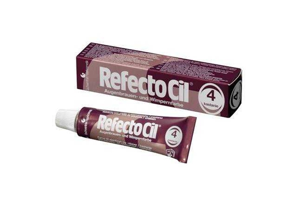 RefectoCil - RefectoCil Kaş ve Kirpik Boyası No:4 Kestane 15 ml