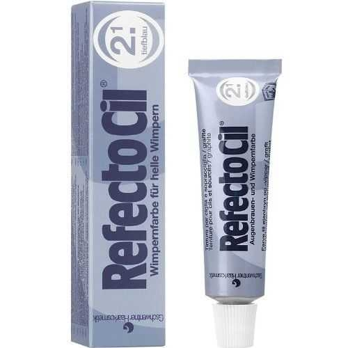 RefectoCil - RefectoCil Kirpik Boyası No:2.1 Koyu Mavi 15 ml
