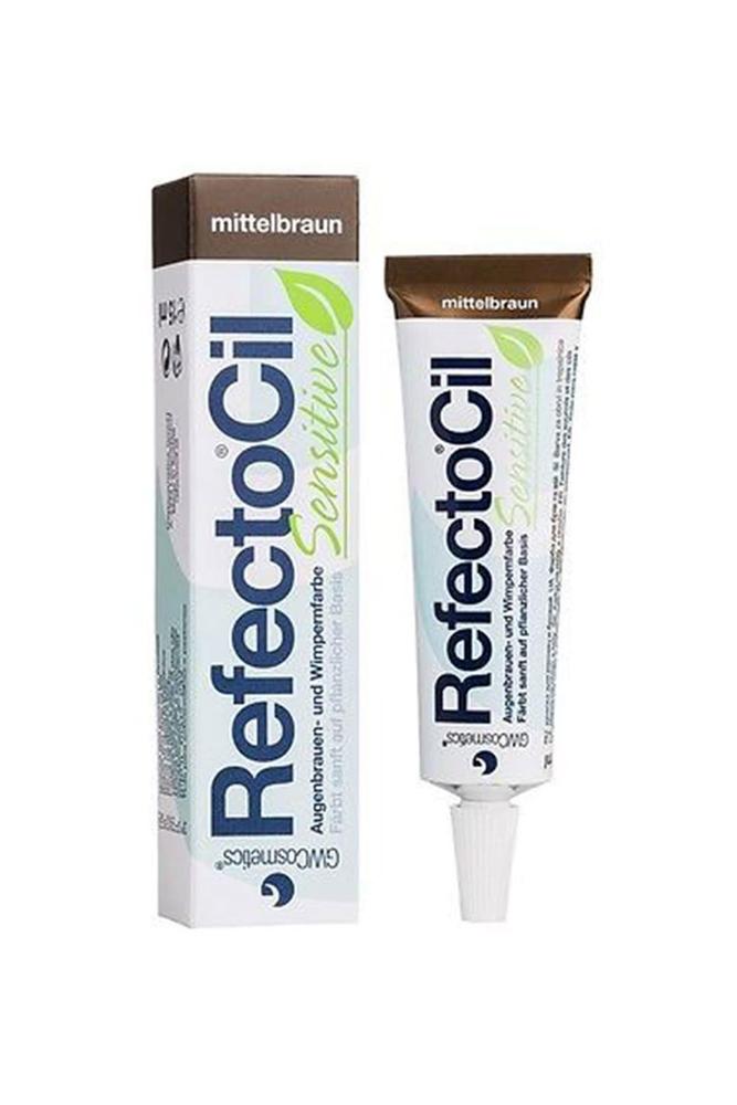 RefectoCil Sensitive Kaş Ve Kirpik Boyası Orta Kahve 15 ml