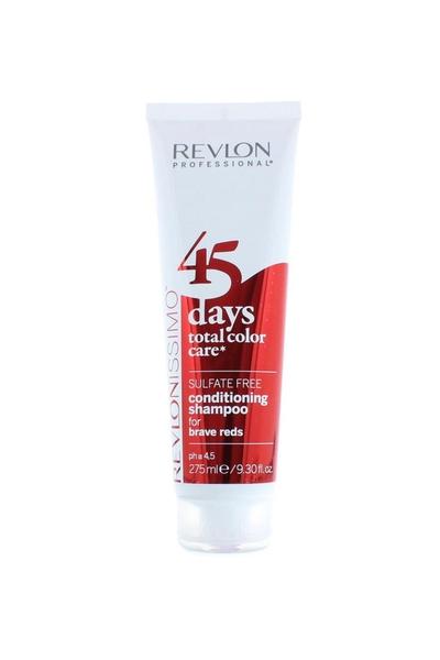 Revlon - Revlon 45 Days Renk Koruyucu Şampuan Brave Reds 275 ml
