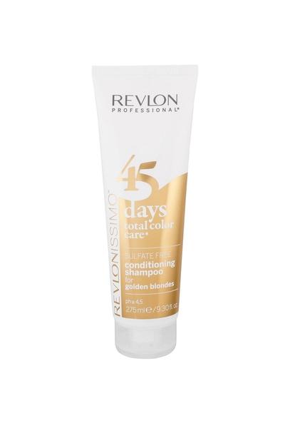 Revlon - Revlon 45 Days Renk Koruyucu Şampuan Golden Blondes 275 ml