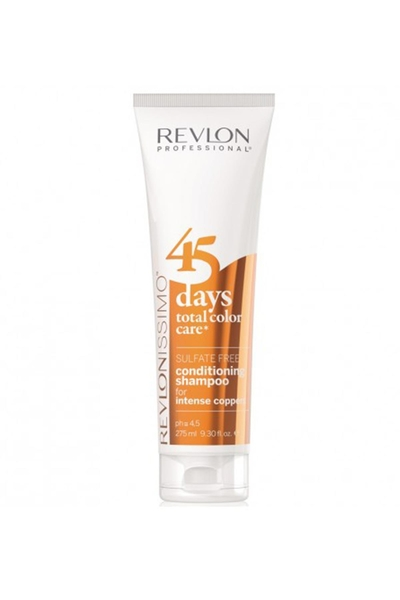 Revlon - Revlon 45 Days Renk Koruyucu Şampuan Intense Coppers 275 ml