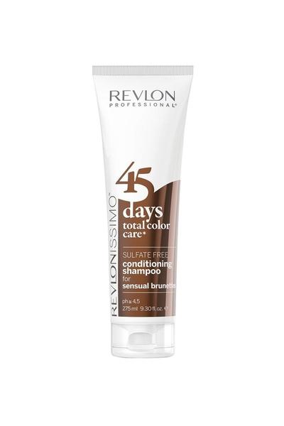 Revlon - Revlon 45 Days Renk Koruyucu Şampuan Sensual Brunettes 275 ml