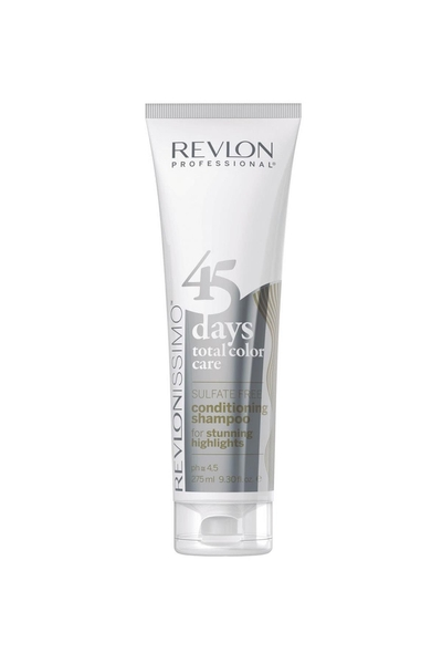 Revlon - Revlon 45 Days Renk Koruyucu Şampuan Stunning Highlights 275 ml