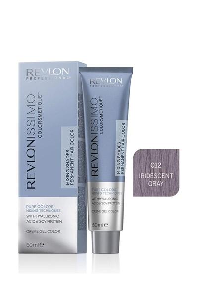 Revlon - Revlonissimo Colorsmetique Pure Colors Mix 0.12 İris Gri