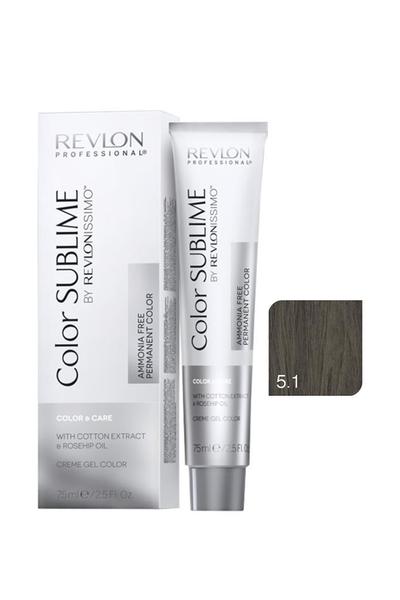 Revlon - Revlonissimo Color Sublime Color & Care 5.1 Açık Kahve Küllü