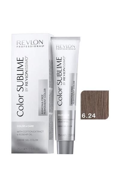 Revlon - Revlonissimo Color Sublime Color & Care 6.24 Koyu Kumral İrize Bakır