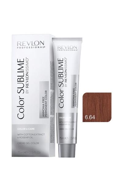 Revlon - Revlonissimo Color Sublime Color & Care 6.64 Koyu Kumral Kızıl Bakır